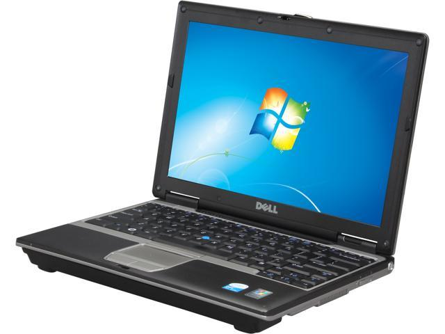 "Dell Latitude D420 12.1"" Gray Laptop - Intel Core Duo U2500 1.20GHz 2GB SODIMM DDR2 ZIF 1.8"" 60GB Windows 7 Home Premium ..."