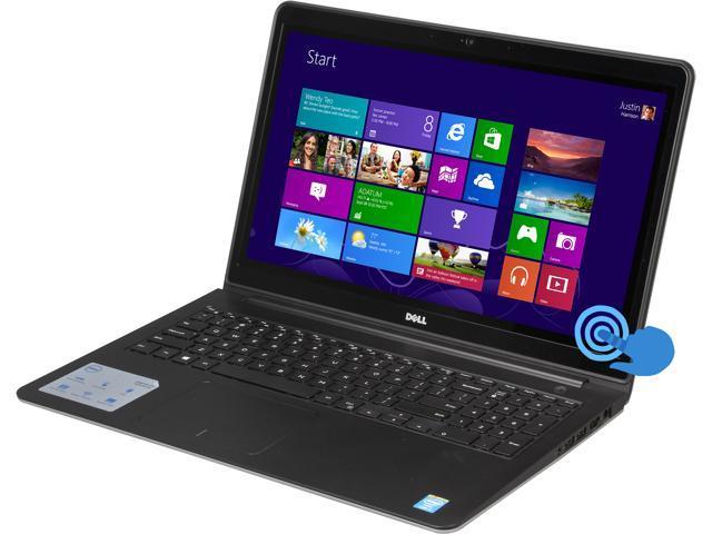 DELL Laptop Inspiron 15 i5547-12500sLV Intel Core i7 4510U (2.00 GHz) 16 GB Memory 1 TB HDD Intel HD Graphics 4400 15.6