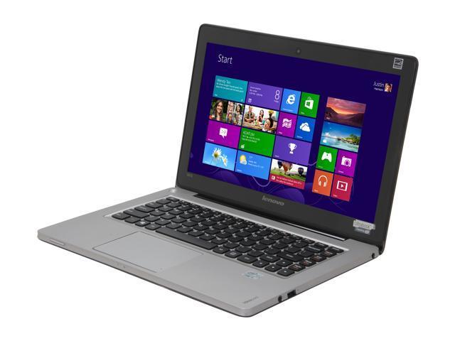 """Lenovo IdeaPad U310 (59351647) Intel Core i5 4 GB Memory 500 GB HDD 24 GB SSD 13.3"""" Ultrabook Windows 8"""