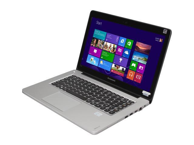 """Lenovo IdeaPad U410 (59351634) Intel Core i3 4 GB Memory 500 GB HDD 24 GB SSD 14"""" Ultrabook Windows 8"""