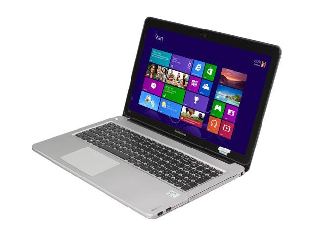 "Lenovo IdeaPad U510 (59347424) Intel Core i5 6 GB Memory 750 GB HDD 24 GB SSD 15.6"" Notebook Windows 8"
