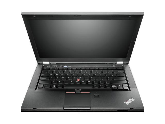 """ThinkPad T Series T430 (2344BKU) Intel Core i5 3320M 2.6 GHz 14"""" Windows 8 Pro 64-bit Notebook"""
