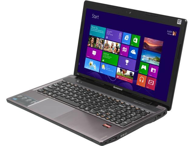 Lenovo Laptop IdeaPad Z585 (59361463) AMD A8-Series A8-4500M (1.90 GHz) 6 GB Memory 1 TB HDD AMD Radeon HD 7640G 15.6