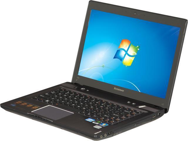 """Lenovo Laptop IdeaPad Y480 (2093XB2) Intel Core i5 3210M (2.50 GHz) 6 GB Memory 750 GB HDD NVIDIA GeForce GT 640M LE 14.0"""" ..."""