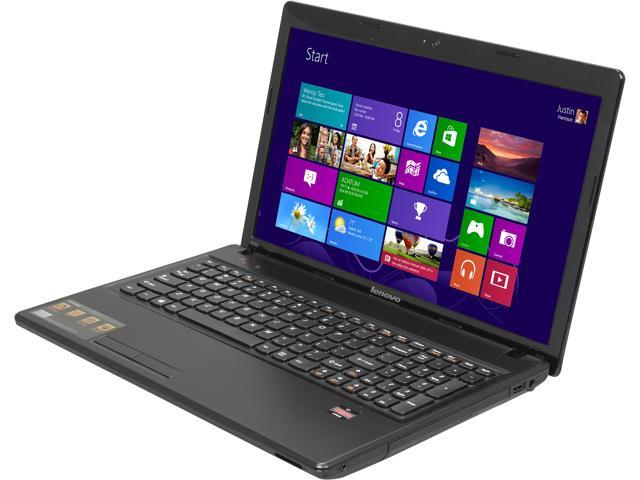 Lenovo Laptop G585 (59363253) AMD Dual-Core Processor E1-1500 (1.48 GHz) 4 GB Memory 500 GB HDD AMD Radeon HD 7310 15.6