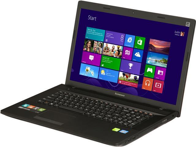 "Lenovo Laptop G700 (59378840) Intel Core i7 3632QM (2.20 GHz) 6 GB Memory 500 GB HDD NVIDIA GeForce GT 720M 17.3"" Windows ..."