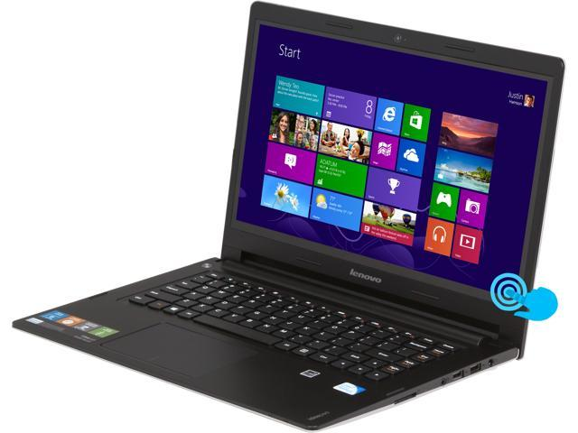 Lenovo Laptop IdeaPad S400 (59371476) Intel Pentium 2127U (1.90 GHz) 4 GB Memory 500 GB HDD Intel HD Graphics 14.0