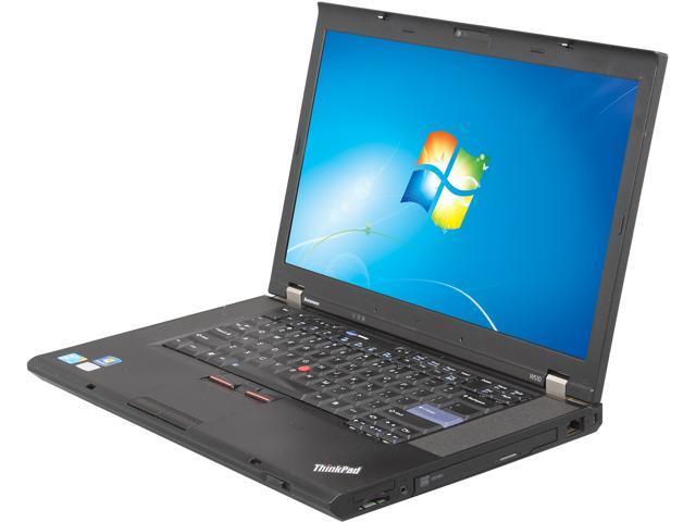 ThinkPad Laptop W Series W510 Intel Core i7 720QM (1.60 GHz) 4 GB Memory 128 GB SSD 15.5