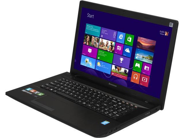"Lenovo Laptop G710 59407880 Intel Core i3 4000M (2.4 GHz) 6 GB Memory 500 GB HDD Intel HD Graphics 4600 17.3"" Windows 8.1"