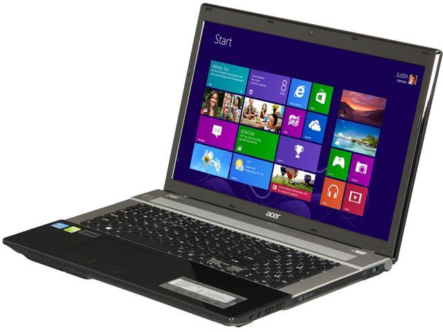 Acer Laptop Aspire V3-771G-6485 Intel Core i5 3230M (2.60 GHz) 6 GB Memory 750 GB HDD NVIDIA GeForce GT 730M 17.3