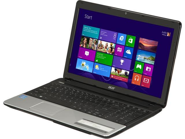 Acer Laptop Aspire E1-571-6680 Intel Core i3 3110M (2.40 GHz) 4 GB Memory 500 GB HDD Intel HD Graphics 4000 15.6