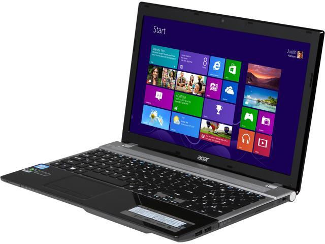 Acer Laptop Aspire V3-571G-6622 Intel Core i5 3230M (2.60 GHz) 4 GB Memory 500 GB HDD NVIDIA GeForce GT 730M 15.6
