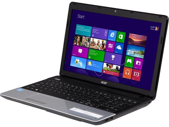 Acer Laptop Aspire E1-571-6659 Intel Core i3 2nd Gen 2328M (2.20 GHz) 4 GB Memory 320 GB HDD Intel HD Graphics 3000 15.6