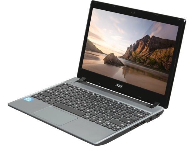 Acer C710-2055 Chromebook Intel Celeron 847 (1.1 GHz) 4 GB Memory 320 GB HDD 11.6