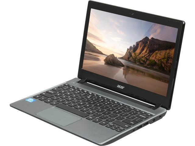 Acer C710-2487 Chromebook Intel Celeron 847 (1.1 GHz) 4 GB Memory 320 GB HDD 11.6