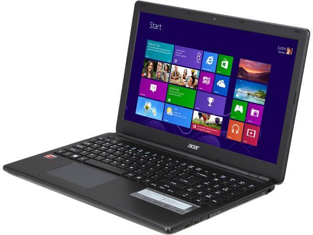 Acer Laptop Aspire E1-522-7820 AMD A6-Series A6-5200 (2.00 GHz) 6 GB Memory 500 GB HDD AMD Radeon HD 8400 15.6