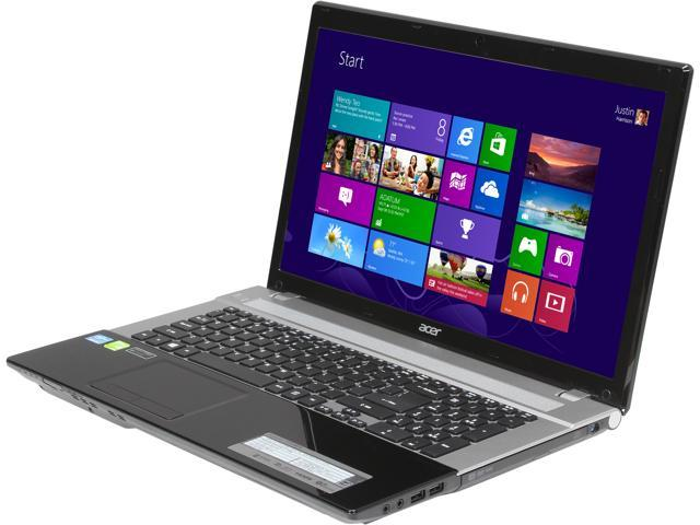 "Acer Laptop Aspire V3-771G-6814 Intel Core i5 3230M (2.60 GHz) 8GB DDR3 Memory 750 GB HDD NVIDIA GeForce GT 730M 17.3"" Windows ..."