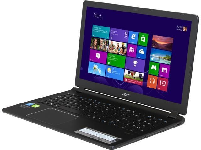 "Acer Laptop Aspire V5-573G-9491 Intel Core i7 4500U (1.80 GHz) 6 GB Memory 500 GB HDD NVIDIA GeForce GT 720M 15.6"" Windows ..."