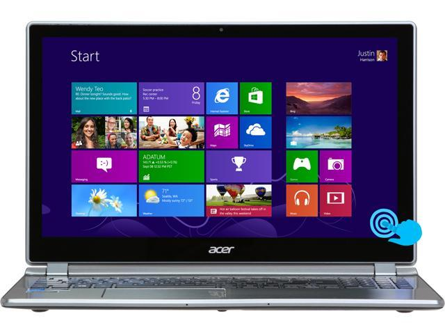 Acer Aspire V7 Intel Core i7 8GB 500GB HDD+20GB SSD 15.6
