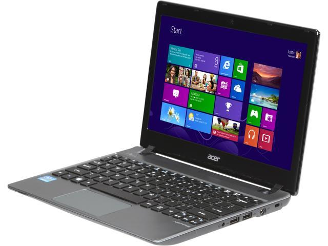 "Acer Laptop Aspire V5-171-6614 Intel Core i3 3217U (1.80 GHz) 4 GB Memory 500 GB HDD Intel HD Graphics 4000 11.6"" Windows ..."