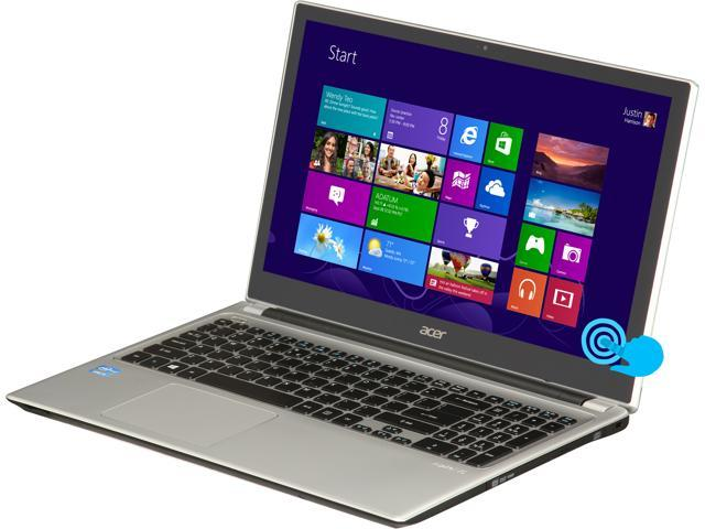 Acer Laptop Aspire V5-571P-6604 Intel Core i5 3rd Gen 3337U (1.80 GHz) 6 GB Memory 500 GB HDD Intel HD Graphics 4000 15.6