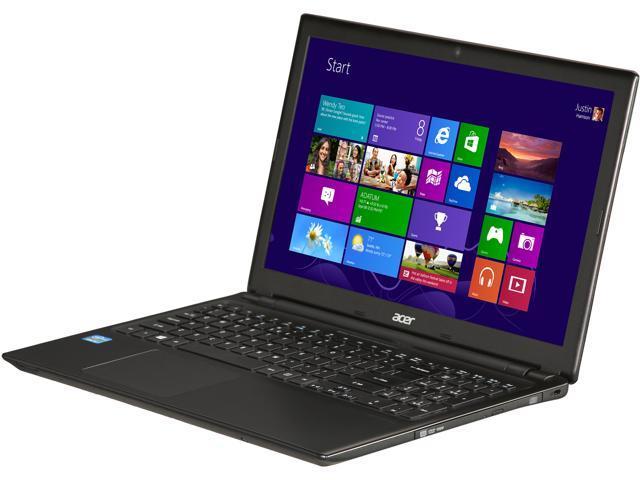"Acer Laptop Aspire V5-571-6490 Intel Core i5 3337U (1.80 GHz) 6 GB Memory 750 GB HDD Intel HD Graphics 4000 15.6"" Windows ..."