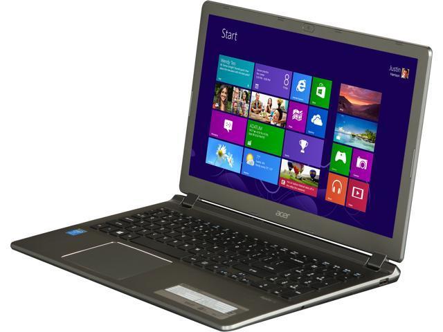 "Acer Laptop Aspire V5-573-9837 Intel Core i7 4500U (1.80 GHz) 6 GB Memory 1 TB HDD Intel HD Graphics 4400 15.6"" Windows 8"