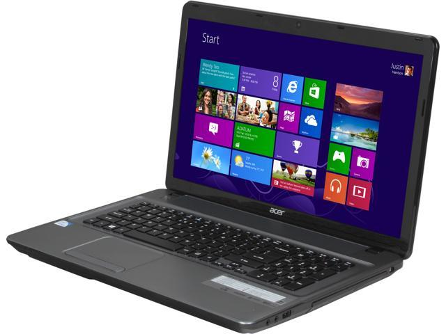 "Acer Laptop Aspire E1-731-4656 Intel Pentium 2020M (2.40 GHz) 4 GB Memory 500 GB HDD Intel HD Graphics 17.3"" Windows 8"