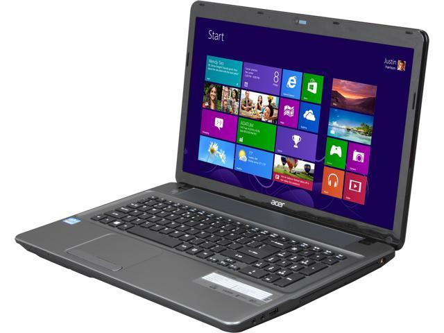 Acer Laptop Aspire E1-771-6603 Intel Core i3 3110M (2.40 GHz) 6 GB Memory 750 GB HDD Intel HD Graphics 4000 17.3