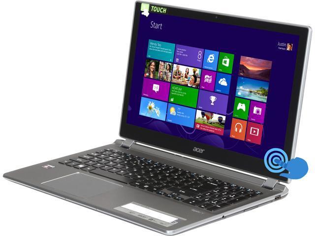 Acer Laptop Aspire V5-552P-8471 AMD A8-Series A8-5557M (2.10 GHz) 8 GB Memory 750 GB HDD AMD Radeon HD 8550G 15.6