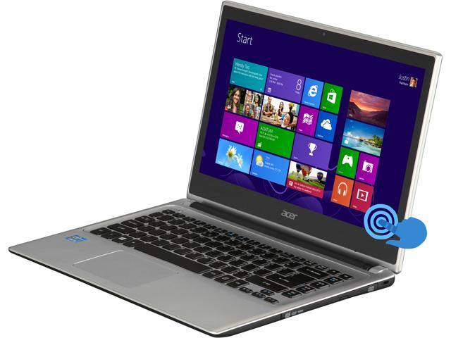 Acer Laptop Aspire V5-471P-6605 Intel Core i3 3rd Gen 3227U (1.90 GHz) 4 GB Memory 500 GB HDD Intel HD Graphics 4000 14.0