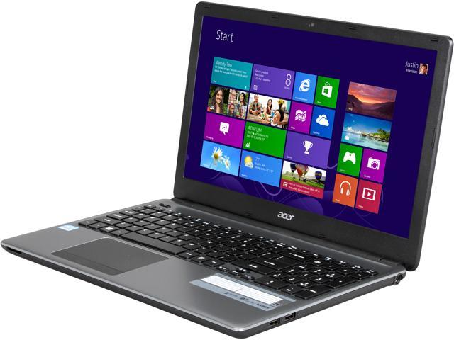 Acer Laptop E1-570-6803 Intel Core i3 3217U (1.80 GHz) 4 GB Memory 500 GB HDD Intel HD Graphics 4000 15.6