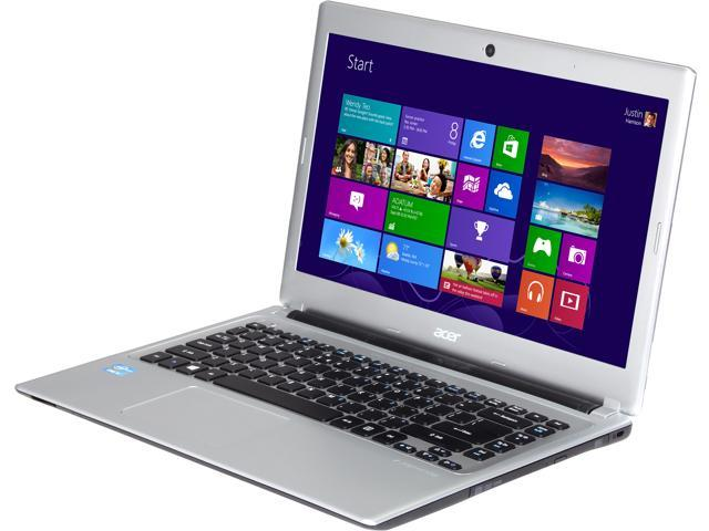 "Acer Laptop V5-471-6687 Intel Core i3 2365M (1.40 GHz) 4 GB Memory 500 GB HDD Intel HD Graphics 3000 14.0"" Windows 8"