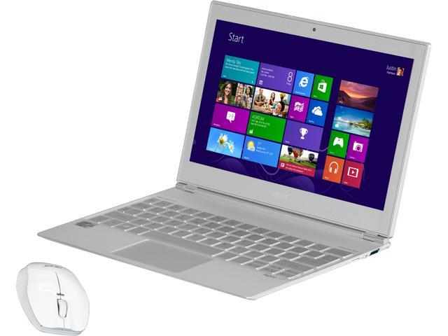 Acer S7-191-6400 Ultrabook Intel Core i5 3337U (1.80 GHz) 128 GB SSD Intel HD Graphics 4000 Shared memory 11.6