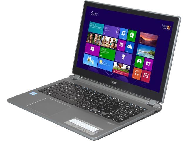 "Acer Laptop V5-572P-6454 Intel Core i5 3337U (1.80 GHz) 8 GB Memory 500 GB HDD Intel HD Graphics 4000 15.6"" Windows 8"