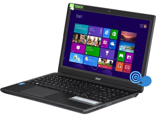 Acer Laptop Aspire E1-510P-4828 Intel Pentium N3520 Quad-Core Processor 2.17GHz 4 GB Memory 500 GB HDD Intel HD Graphics ...