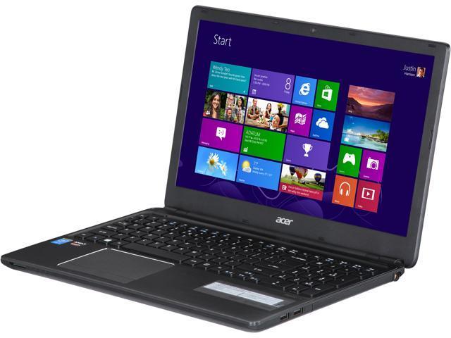 Acer Laptop Aspire V5-561G-6407 Intel Core i5 4200U (1.60 GHz) 6 GB Memory 500 GB HDD AMD Radeon R7 M265 2 GB 15.6