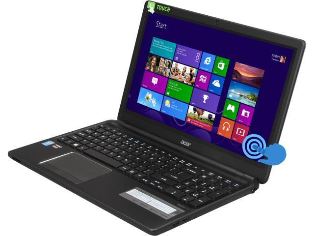 "Acer Laptop Aspire V5-561PG-6686 Intel Core i5 4200U (1.60 GHz) 8 GB Memory AMD Radeon R7 M265 15.6"" Touchscreen Windows ..."