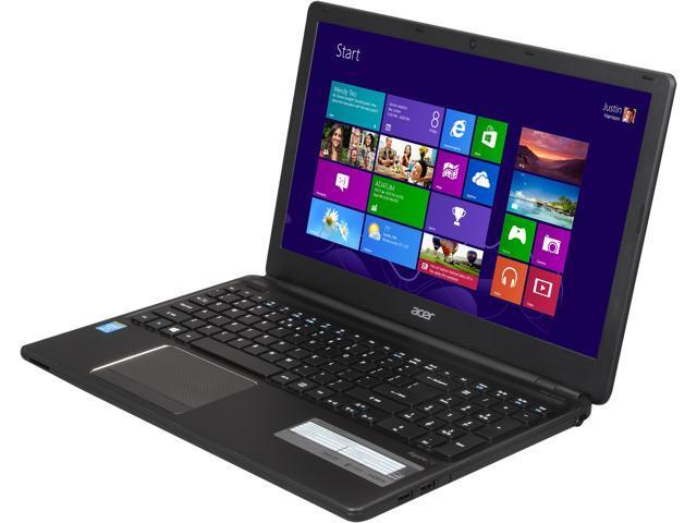 Acer Laptop Aspire V5-561-9410 Intel Core i7 4500U (1.80 GHz) 8 GB Memory 500 GB HDD Intel HD Graphics 4400 15.6