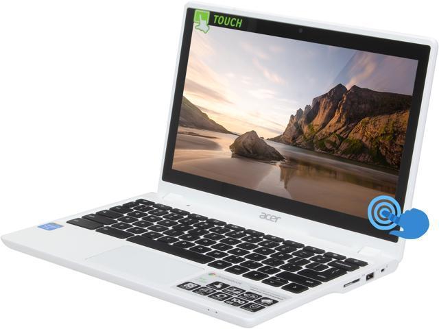 Acer C720P-2600 Chromebook Intel Celeron 2955U (1.40 GHz) 2 GB Memory 32 GB SSD 11.6