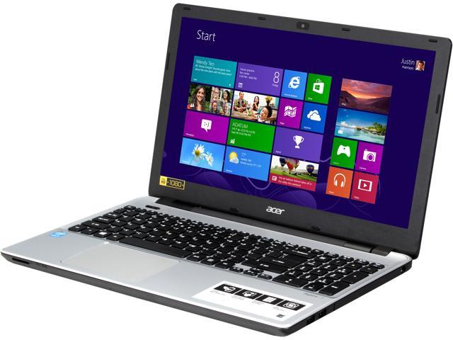 Acer Laptop Aspire V3-572-5217 Intel Core i5 4210U (1.70 GHz) 8 GB DDR3L Memory 1 TB HDD Intel HD Graphics 4400 15.6