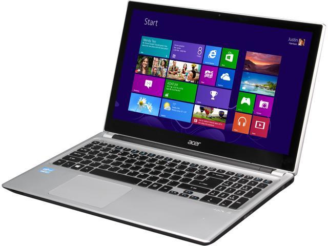 Acer Laptop Aspire V5 V5-571P-6490 Intel Core i3 2375M (1.50 GHz) 4 GB Memory 500 GB HDD Intel HD Graphics 3000 15.6