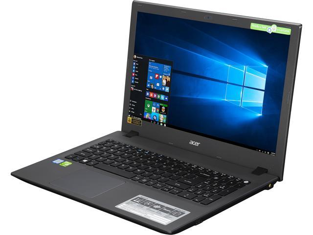 Acer Notebooks Aspire E 15 E5-574G-54Y2 Intel Core i5 6200U (2.30 GHz) 8 GB Memory 1 TB HDD NVIDIA GeForce 940M 15.6