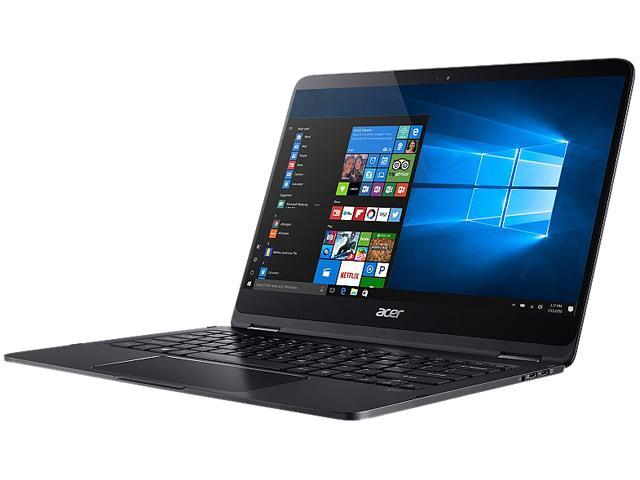 Acer Laptop Spin SP714-51-M024 Intel Core i7 7th Gen 7Y75 (1.30 GHz) 8 GB LPDDR3 Memory 256 GB SSD Intel HD Graphics 615 14.0