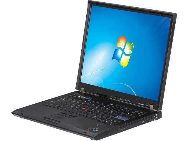 Lenovo T60 Windows 7 Home Premium Laptop