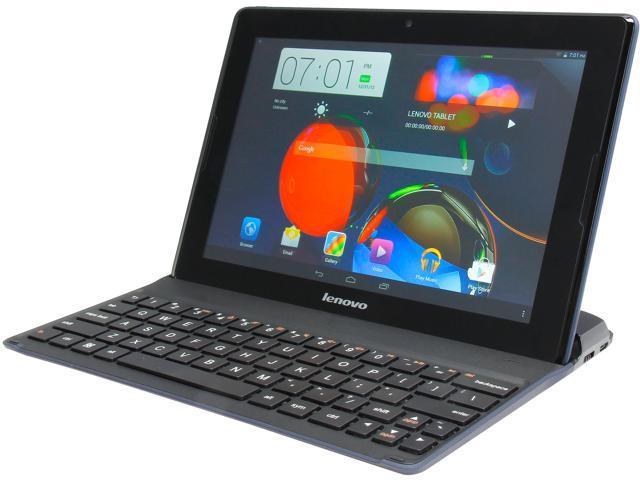 "Lenovo A10-70 16 GB 10.1"" Tablet and Bundled Keyboard"