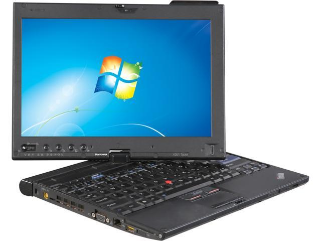 Lenovo Laptop X201 Intel Core i7 2.13 GHz 3 GB Memory 128 GB HDD Windows 7 Professional