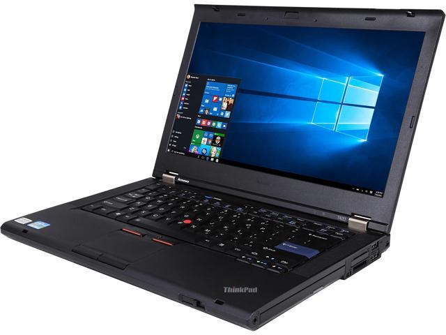 ThinkPad Laptop T Series T420 Intel Core i5 2nd Gen 2520M (2.50 GHz) 4 GB Memory 320 GB HDD Intel HD Graphics 3000 Windows 10 Pro 64-Bit