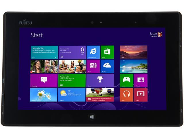 """Fujitsu STYLISTIC Q572 (Q572-W7D-001) 64GB SSD 10.1"""" Tablet"""