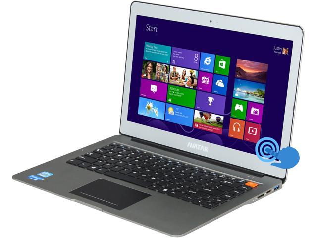 "Avatar AVIU-145C6-T Intel Core i5 8 GB Memory 500 GB HDD 32 GB SSD 14"" Touchscreen Notebook Windows 8"